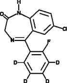 Desalkylflur<wbr/>azepam-d<sub>4</sub> (CRM)