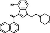 JWH 200 4-<wbr/>hydroxyindole metabolite