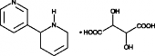 (R,S)-Anatabine (tartrate)