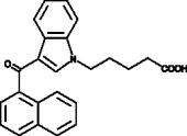 JWH 018 N-<wbr/>pentanoic acid metabolite