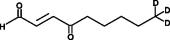 4-<wbr/>oxo-2-<wbr/>Nonenal-<wbr/>d<sub>3</sub>