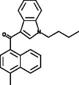 JWH 073 4-<wbr/>methylnaphthyl analog