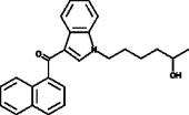 JWH 019 N-<wbr/>(5-<wbr/>hydroxyhexyl) metabolite
