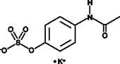 Acetaminophen sulfate (potassium salt)