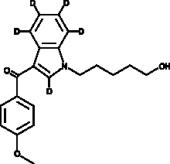 RCS-<wbr/>4 N-<wbr/>(5-<wbr/>hydroxypentyl) metabolite-<wbr/>d<sub>5</sub>