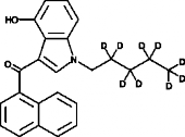 JWH 018 4-<wbr/>hydroxyindole metabolite-<wbr/>d<sub>9</sub>
