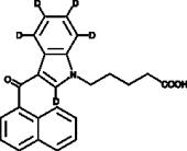 JWH 018 N-<wbr/>pentanoic acid metabolite-<wbr/>d<sub>5</sub>
