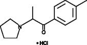 4'-<wbr/>methyl-<wbr/>α-<wbr/>Pyrrolidinopropiophenone (hydro<wbr>chloride) (exempt preparation)