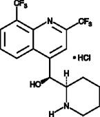 Mefloquine (hydro<wbr/>chloride)