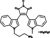 Bisindolyl<wbr/>maleimide VIII (acetate)