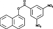 1-Naphthyl 3,5-dinitro<wbr/>benzoate