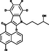 (±)-<wbr/>JWH 398 N-<wbr/>(4-<wbr/>hydroxypentyl) metabolite-<wbr/>d<sub>5</sub>