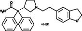 Darifenacin (hydro<wbr>bromide)