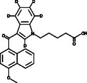 JWH 081 N-<wbr/>pentanoic acid metabolite-<wbr/>d<sub>5</sub>