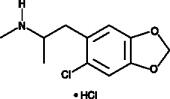 6-chloro-MDMA (hydro<wbr>chloride)
