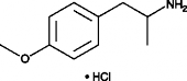4-<wbr/>Methoxyamphetamine (hydro<wbr>chloride)