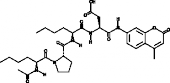 Ac-Nle-Pro-<wbr/>Nle-Asp-AMC (trifluoroacetate salt)