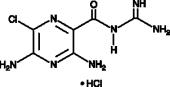 Amiloride (hydro<wbr>chloride) (hydrate)