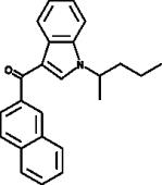 JWH 018 2'-<wbr/>naphthyl-<wbr/>N-<wbr/>(1-<wbr/>methylbutyl) isomer