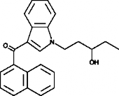 (±)-<wbr/>JWH 018 N-<wbr/>(3-<wbr/>hydroxypentyl) metabolite