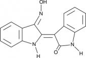 Indirubin-<wbr/>3'-<wbr/>monoxime