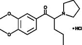 3,4-<wbr/>dimethoxy-<wbr/>α-<wbr/>Pyrrolidinopentiophenone (hydro<wbr>chloride)