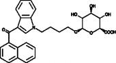 JWH 073 N-<wbr/>(4-<wbr/>hydroxybutyl) β-<wbr/>D-<wbr/>Glucuronide