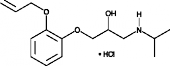 Oxprenolol (hydro<wbr/>chloride)