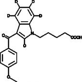 RCS-<wbr/>4 N-<wbr/>pentanoic acid metabolite-<wbr/>d<sub>5</sub>