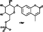 4-Methylum<wbr/>belliferyl β-D-Galacto<wbr/>pyranoside-6-<wbr/>sulfate (sodium salt)