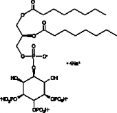 PtdIns-<wbr/>(3,4,5)-<wbr/>P<sub>3</sub> (1,2-<wbr/>dioctanoyl) (sodium salt)
