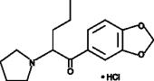 3,4-Methylene<wbr/>dioxy Pyrovalerone (hydro<wbr>chloride)