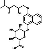 (±)-4-hydroxy Propranolol β-D-Glucuro<wbr/>nide