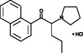 Naphyrone 1-<wbr/>naphthyl isomer (hydro<wbr>chloride)