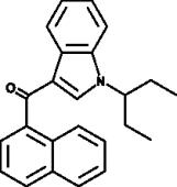 JWH 018 N-<wbr/>(1-<wbr/>ethylpropyl) isomer
