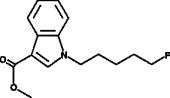 methyl-<wbr/>1-<wbr/>(5-<wbr/>fluoropentyl)-<wbr/>1H-<wbr/>indole-<wbr/>3-<wbr/>Carboxylate