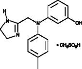 Phentolamine (mesylate)
