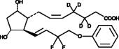 Tafluprost (free acid)-d<sub>4</sub>