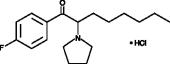 4-<wbr/>fluoro PV9 (hydro<wbr>chloride)