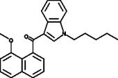 JWH 081 8-<wbr/>methoxynaphthyl isomer