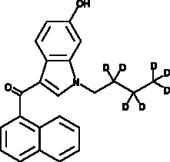 JWH 073 6-<wbr/>hydroxyindole metabolite-<wbr/>d<sub>7</sub>