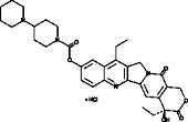 Irinotecan (hydrochloride hydrate)