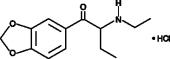 Eutylone (hydrochloride)