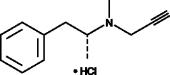 R-<wbr/>(−)-<wbr/>Deprenyl (hydro<wbr>chloride)