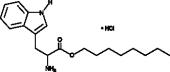 DL-Tryptophan octyl ester (hydro<wbr>chloride)