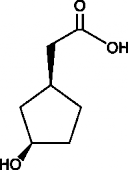 (1S,3R)-<wbr/>3-<wbr/>Hydroxycyclopentane acetic acid