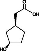 (1S,3R)-<wbr/>3-<wbr/>Hydroxycyclopentane acetic acid