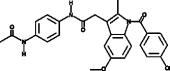 N-<wbr/>(4-<wbr/>acetamidophenyl)-<wbr/>Indomethacin amide