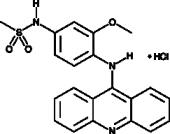 Amsacrine (hydro<wbr/>chloride)