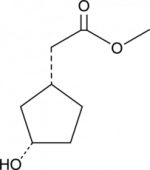 (1R,3S)-<wbr/>3-<wbr/>Hydroxycyclopentane acetic acid methyl ester